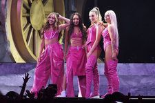 Little Mix & Ms Banks Deliver Fiery 'Woman Like Me' Performance at 2019 Brit Awards: Watch
