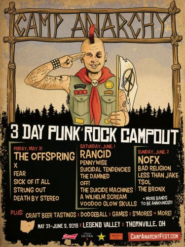 The Offspring, Rancid, and NOFX headline inaugural Camp Anarchy festival