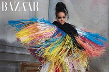 Rihanna Stuns in High-Fashion 'Harper's Bazaar' Photo Shoot