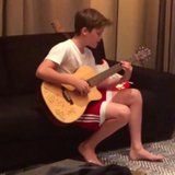 Victoria Beckham Sneakily Catches Her Son Singing Justin Bieber, and He Sounds Amazing