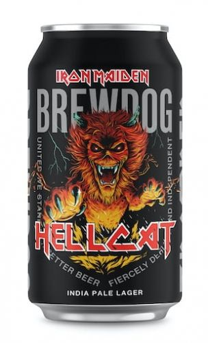 IRON MAIDEN And BREWDOG Unleash HELLCAT Collaboration